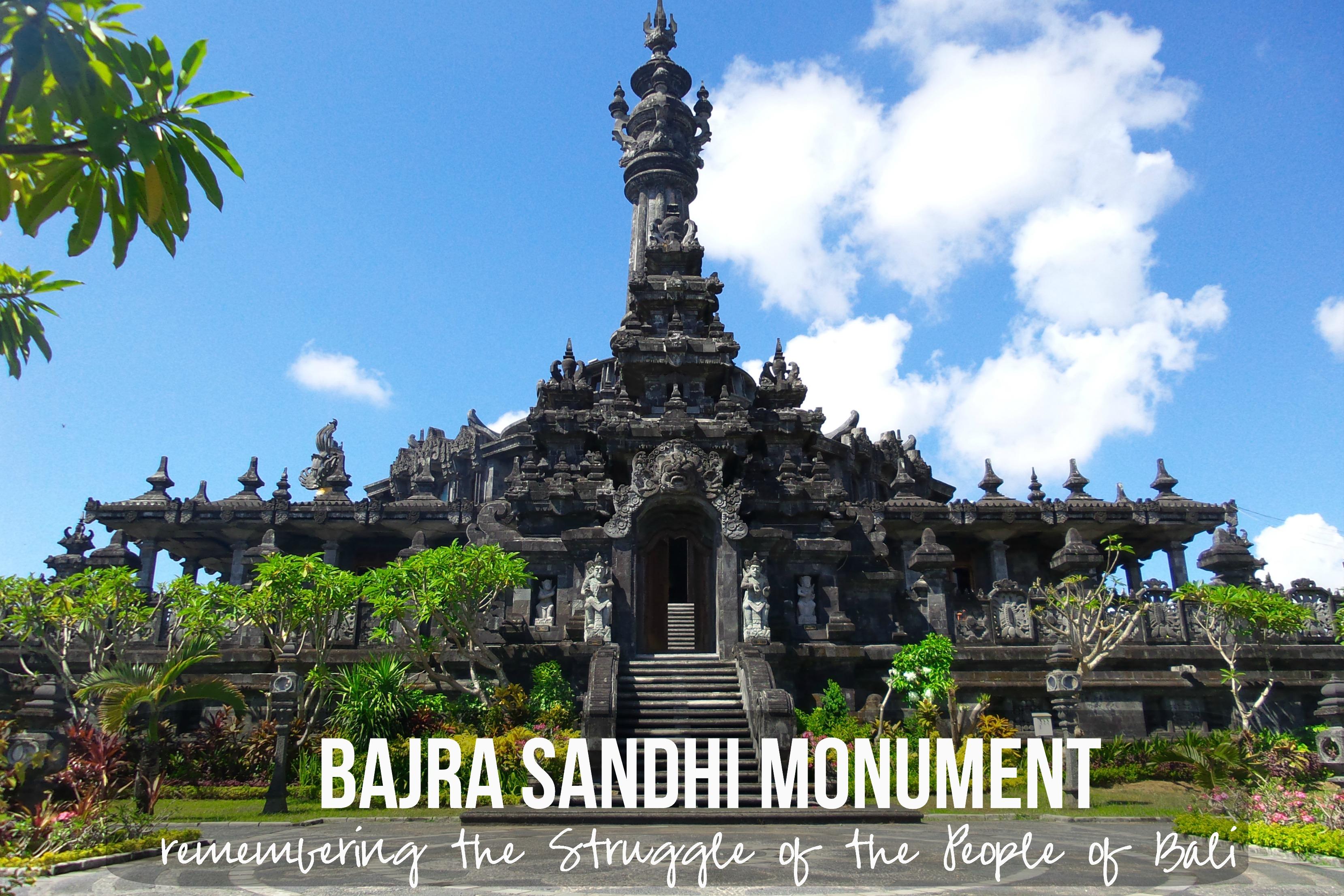 Bajra Sandhi Bali Kura Guide Berlokasi Depan Kantor Gubernur Renon