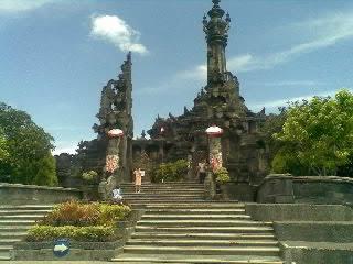 Bajra Sandhi Balinese People Struggle Monument Denpasar City Renon Kota
