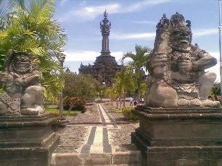 Bajra Sandhi Balinese People Struggle Monument Denpasar City Vmancer Renon