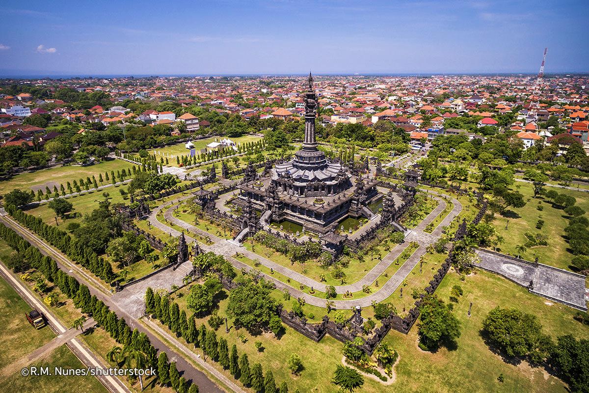 Bajra Sandhi Monument Bali Magazine Renon Kota Denpasar