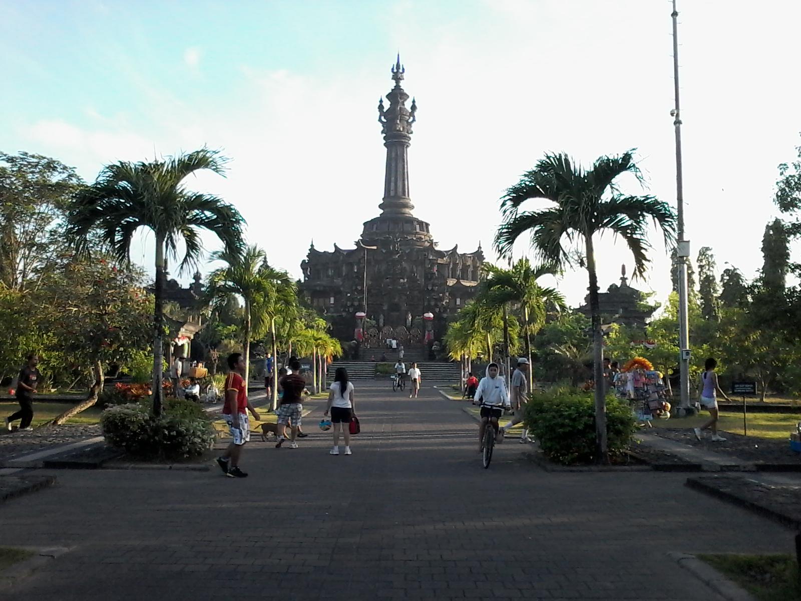 Bajra Sandhi Monument Bali Travel Independent Renon Kota Denpasar