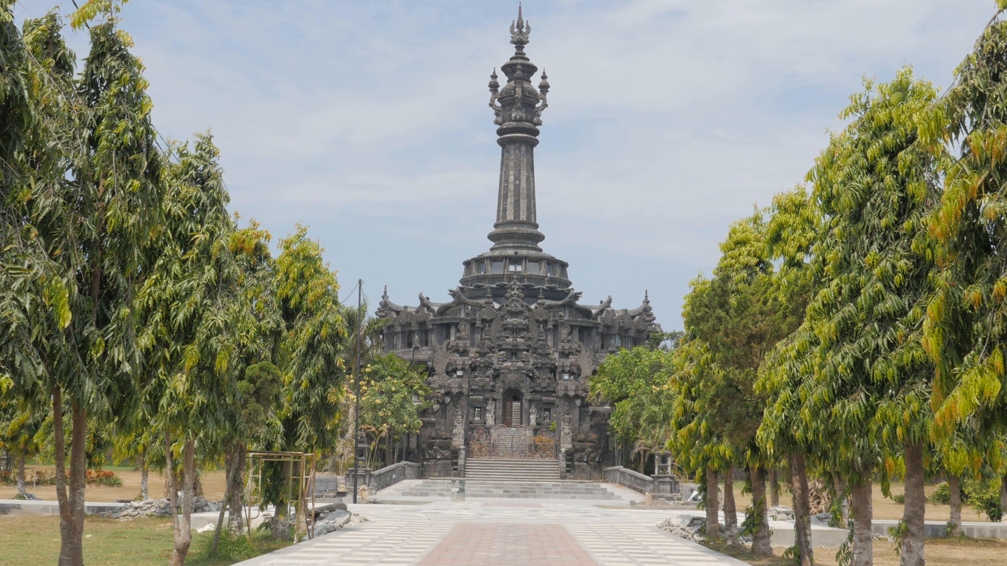 Bajra Sandhi Monument Denpasar Bali Indonesia Stock Video Footage Videoblocks