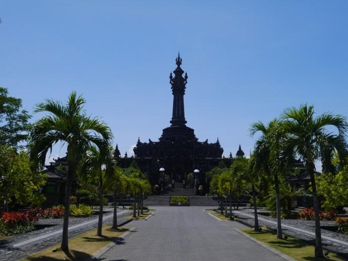 Bajra Sandhi Monument Denpasar Bali Renegade Travels Entrance Renon Kota