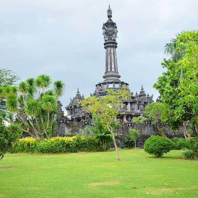 Bajra Sandhi Monument Denpasar Punapi Bali Renon Kota