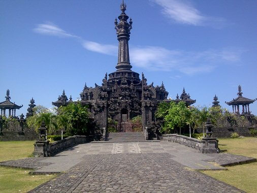 Bajra Sandhi Monument Renon Denpasar Bali Kota