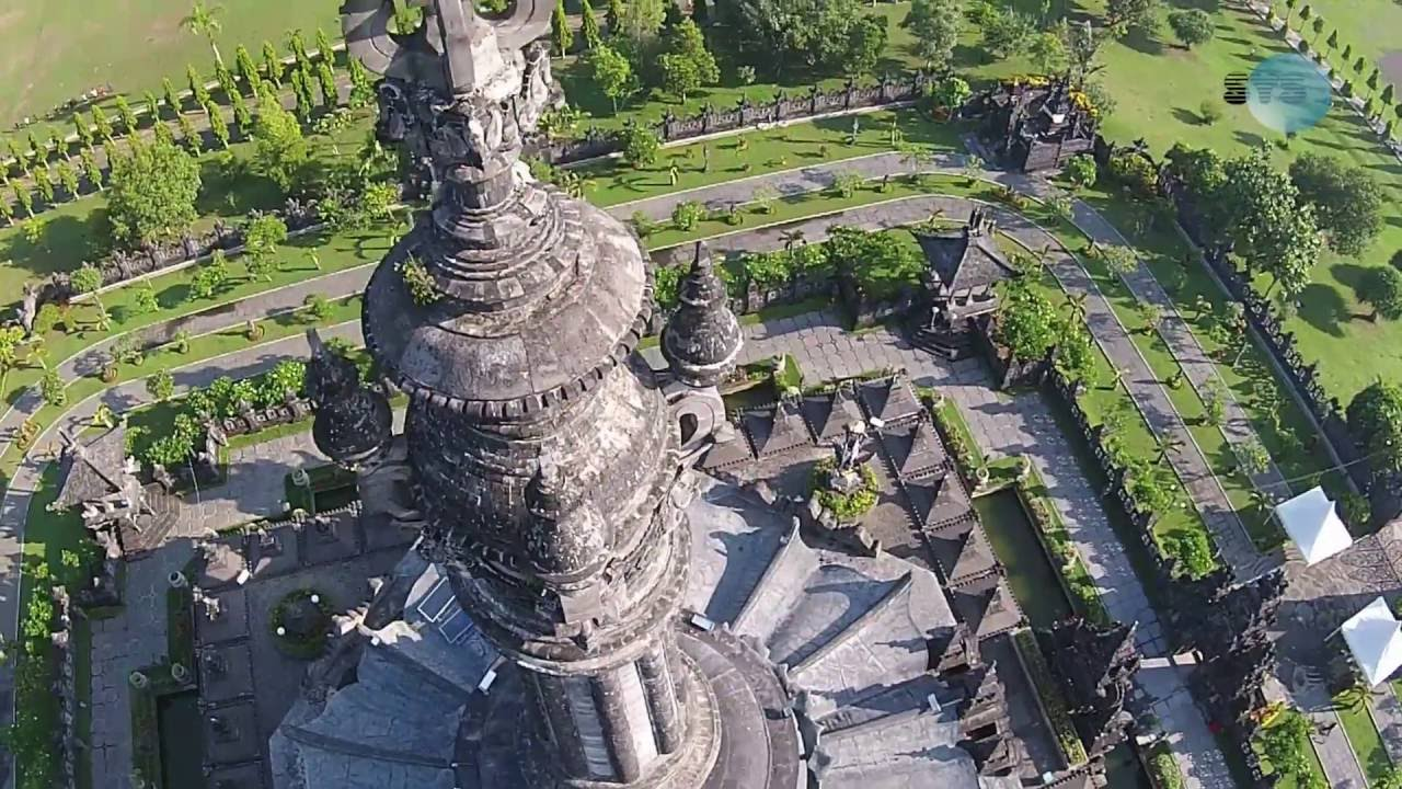 Bajra Sandhi Renon Denpasar Bali Aerial Video Dji Phantom Youtube