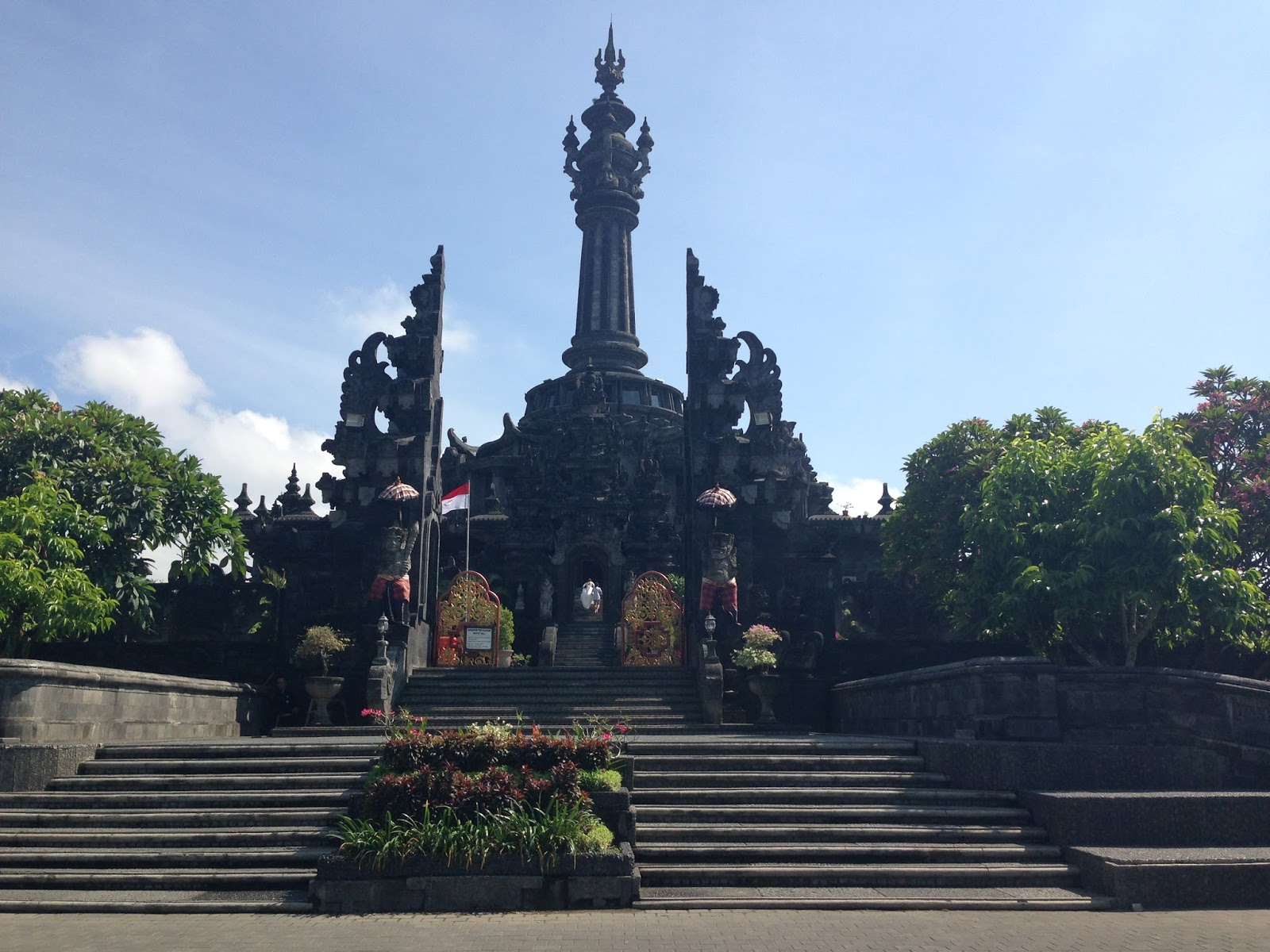 Bali Driver Tour Guide Bajra Sandi City Park Denpasar Sandhi