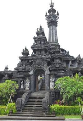 Denpasar Tourist Destination Monument Bajra Sandhi Renon Kota