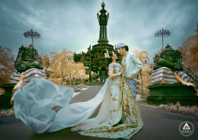Foto Prewedding Keren Bajra Sandhi Bali Tempatnya Objek Facebooktwitter Renon