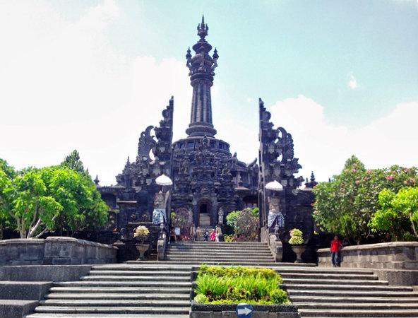 Jenuh Party Bali Yuk Bajra Sandhi Travelon Wego Monumen Puputan