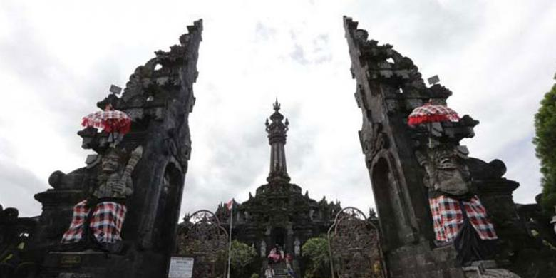 Monumen Bajra Sandhi Tempat Favorit Pelajar Turis Kompas Renon Kota
