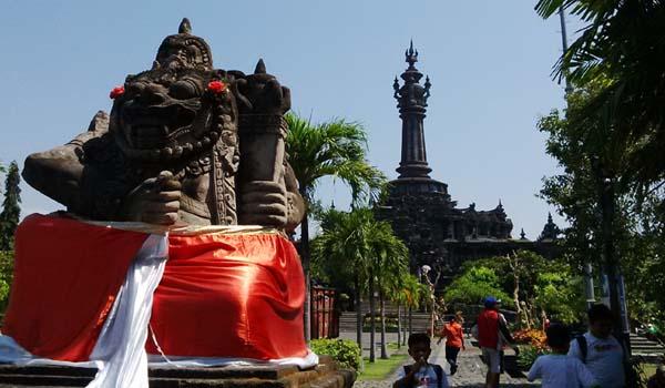 Monumen Perjuangan Rakyat Bali Bajra Sandhi Inibali Berada Lapangan Puputan