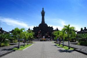 Monument Balinese Struggle Bajra Sandhi Bali Tour Renon Kota Denpasar