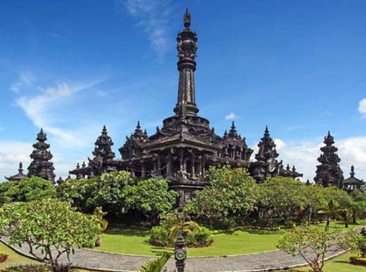 Mounumen Bajra Sandhi Monumen Didedikasikan Perjuangan Renon Kota Denpasar