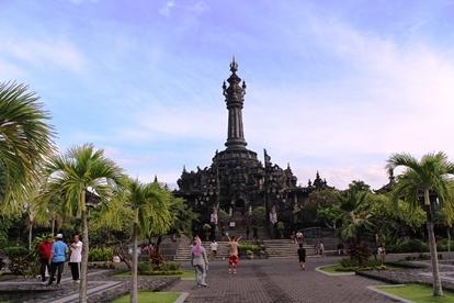 Objek Wisata Monumen Bajra Sandhi Renon Kota Denpasar