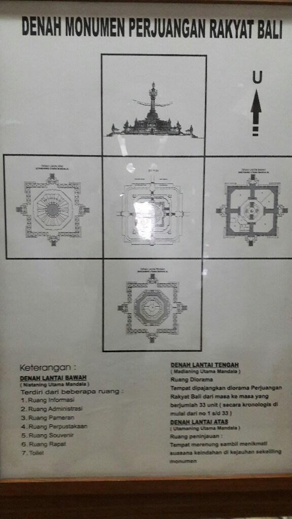 Objek Wisata Monumen Perjuangan Bajra Sandhi Renon Pusat Kota Denpasar