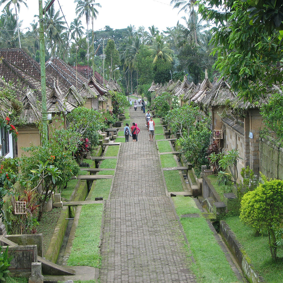 Desa Adat Penglipuran Objek Wisata Budaya Menarik Bali Diwira Kertalangu