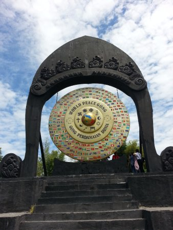 Desa Budaya Kertalangu Denpasar Picture Cultural Village Huge World Peace