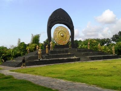 Desa Budaya Kertalangu Gong Perdamaian Dunia Kota Denpasar
