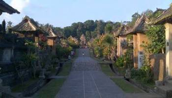 Outbound Bali Kertalangu Cultural Village Denpasar Desa Tradisional Penglipuran Bangli