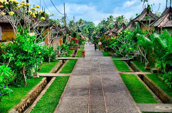 Pemandu Wisata Unj Tugas 4 Budaya Bali Desa Panglipuran Menawan
