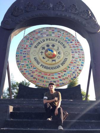World Peace Gong Bali Picture Kertalangu Cultural Village Desa Budaya
