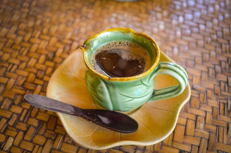 Bali Kopi Luwak Coffee Indonesian Stamped Fresh Cup Poop Kebun