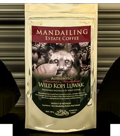 Home Mandailing Estate Coffee Pure Wild Kopi Luwak Kebun Bali