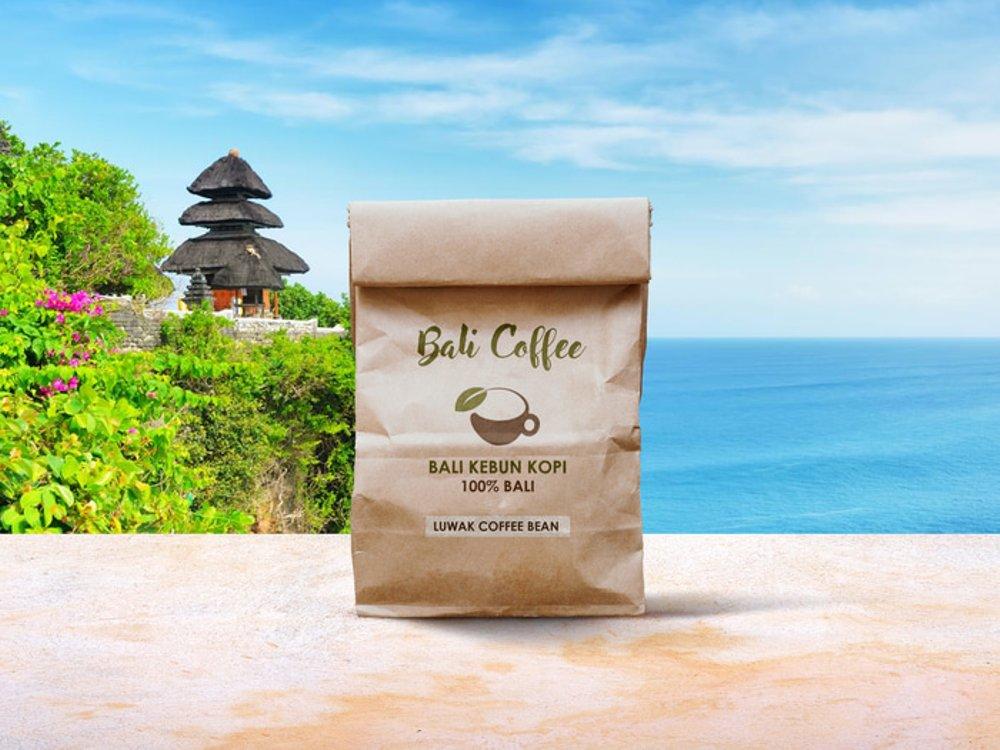 Jual Bali Kebun Kopi Luwak Coffee Bean 250 Gram Lapak