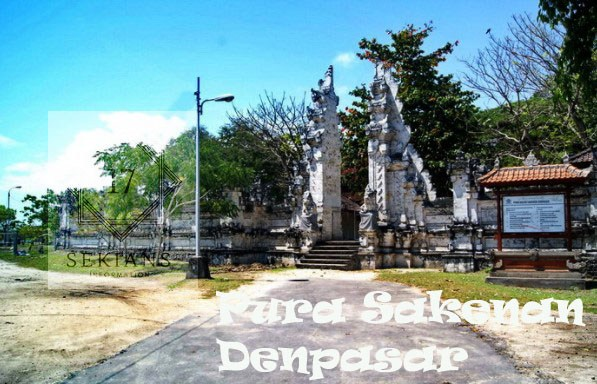 10 Objek Wisata Menarik Keren Denpasar Bali Pura Sakenan Konservasi