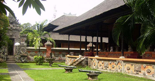 Bali Museum Denpasar History Entrance Fee Location Map Courtyard Kota