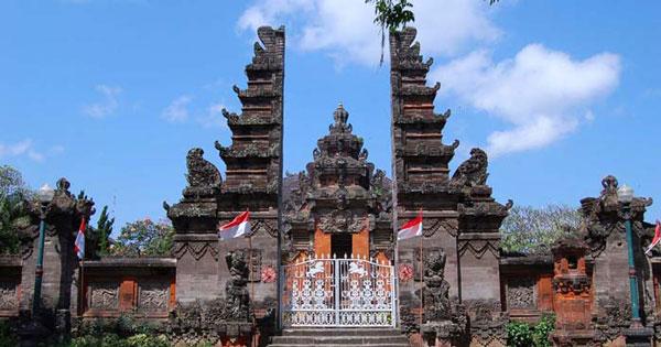 Bali Museum Denpasar History Entrance Fee Location Map Main Gate