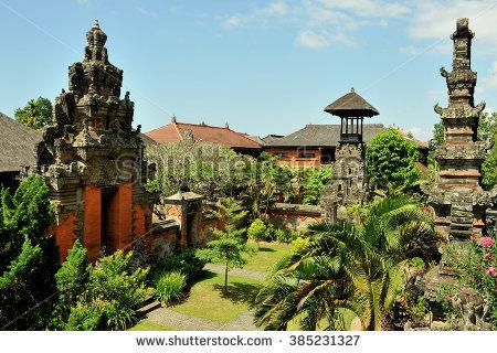Bali Museum Denpasar Indonesia Stock Photo Royalty Free Kota