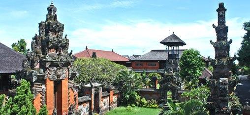 Bali Museum Lies Center Denpasar Eastern Part Puputan Badung Square