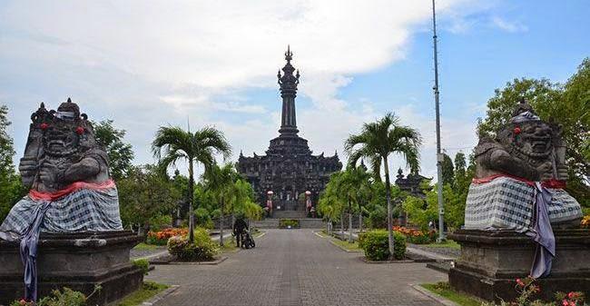 Denpasar Capital City Kota Bali Bajra Sandhi Monument Puputan Badung