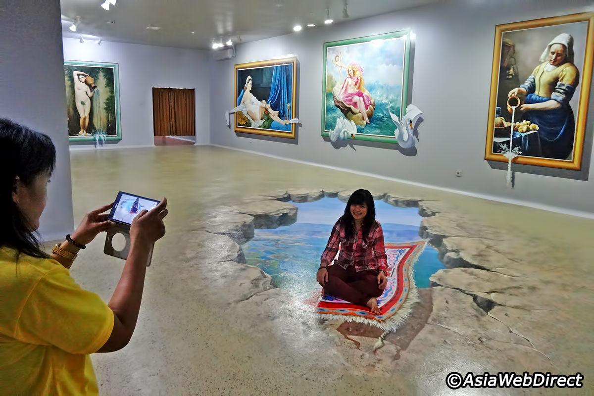 Dream Museum Zone Dmz Bali 3d Trick Art Legian Denpasar
