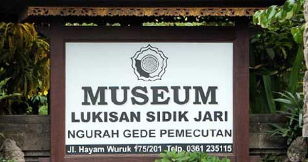 Fingerprint Painting Art Gallery Denpasar Famous Balinese Artists Museum Bali