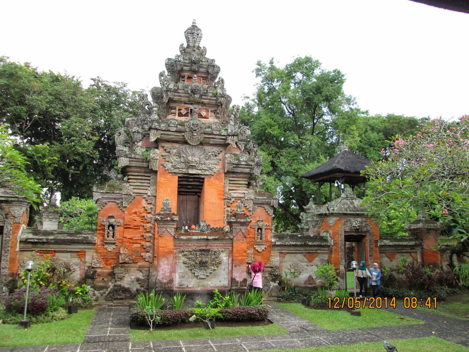 Ketika Bali Memberikan Kesan Desi Blog Museum Denpasar Terletak Jantung