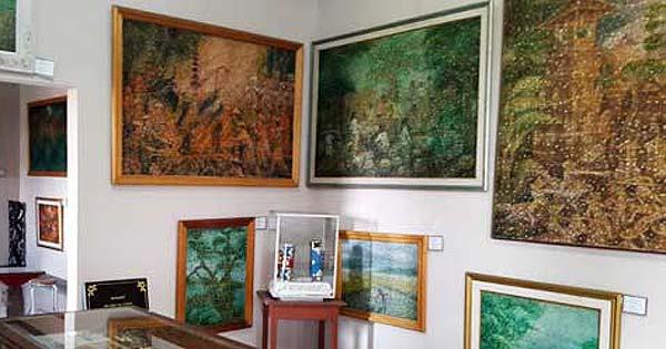 Painting Art Gallery Denpasar Famous Balinese Artists Fingerprint Bali Museum