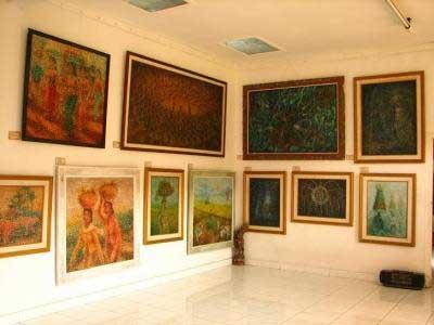 Denpasar Fingerprint Painting Museum Bali Museums Java Tags Lukisan Sidik