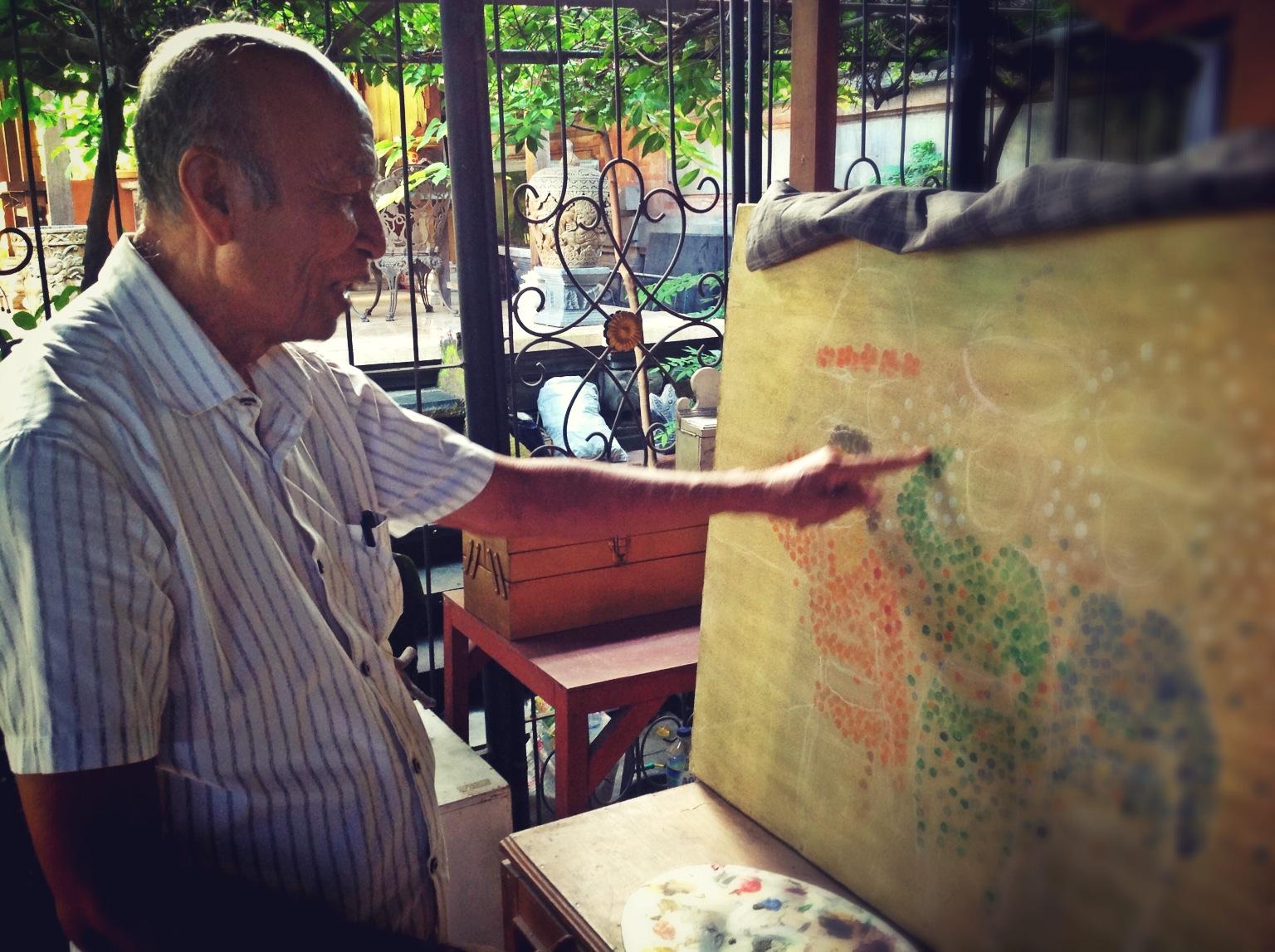 Enjoying Unique Art Fingerprint Lukisan Sidik Jari Museum Img 1015
