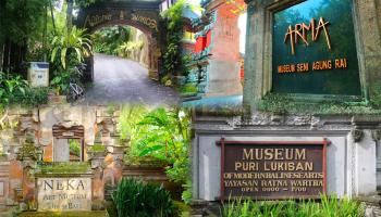 Fingerprint Painting Museum Place Exploring Balinese Art Ubud Lukisan Sidik