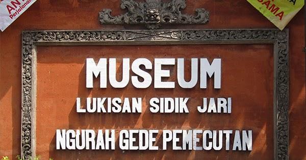 Inilah Museum Kota Denpasar Bali Lukisan Sidik Jari