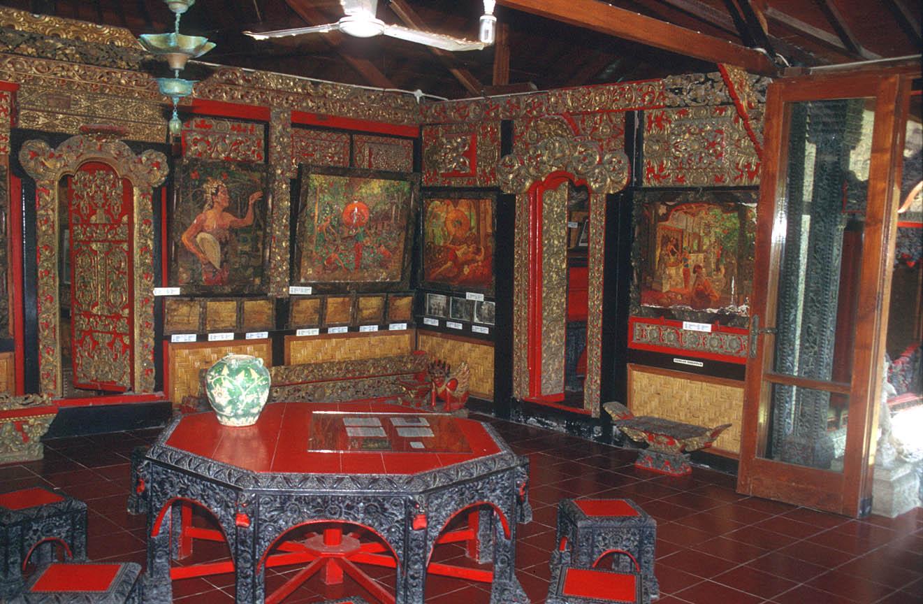 Le Mayeur Museum Pesona Denpasar Lukisan Sidik Jari Kota