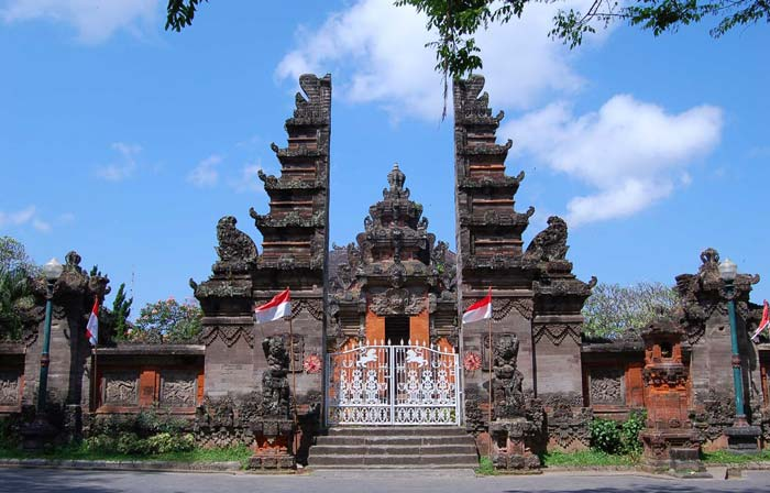 Museum Bali Daftar Seni Lukis Purbakala Denpasar Lukisan Sidik Jari