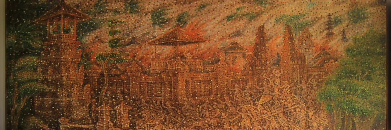 Museum Lukisan Sidik Jari Jejak Karya Ngurah Gede Pemecutan Denpasar