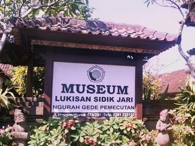 Museum Sidik Jari Denpasar Lukisan Kota