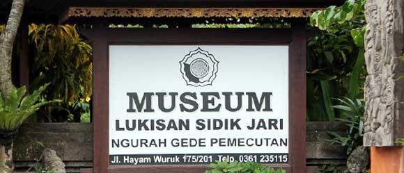 Museum Sidik Jari Denpasar Sejarah Lokasi Galeri Lukisan Bali Kota