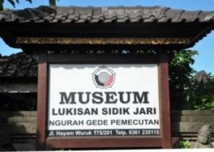 Obyek Wisata Museum Sidik Jari Denpasar Bali Paket Jaribali Lukisan