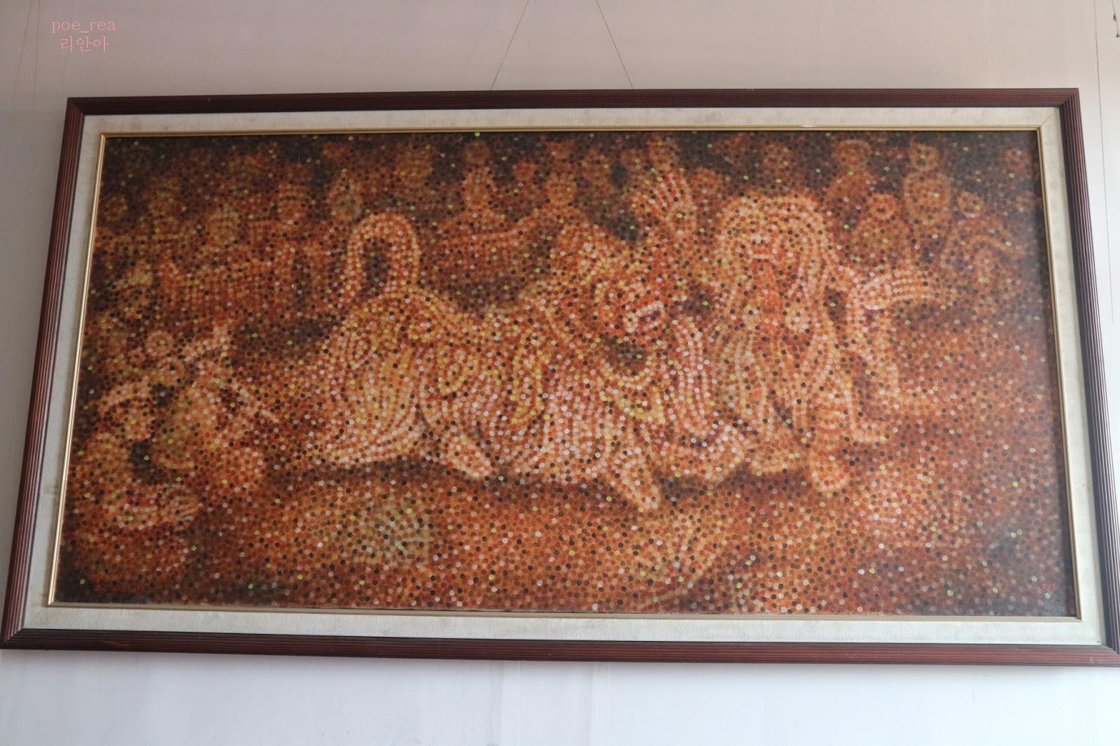 Rea World Museum Lukisan Sidik Jari Bali Barong Dance Denpasar